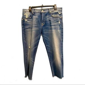 7 FOR ALL MANKIND 29 Relaxed Skinny Jeans